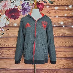 Adidas DC United Zip Hoodie